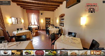Virtual Tour Trattoria la Scaletta